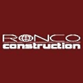 Ronco Construction Co logo