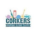 Corkers Crisps logo