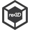 re3D logo