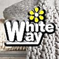 White Way Cleaners logo