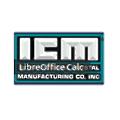 International Crystal Manufacturing logo