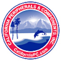 California Peripherals & Components logo