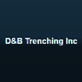D&B Trenching logo
