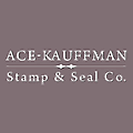 Ace-Kauffman Stamp and Seal logo