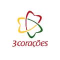 3 Coracoes logo
