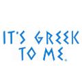 It's Greek to Me logo