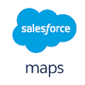 Salesforce Maps logo