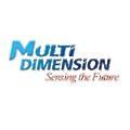 Multidimension logo