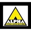 Alpha Fire & Security Alarm logo